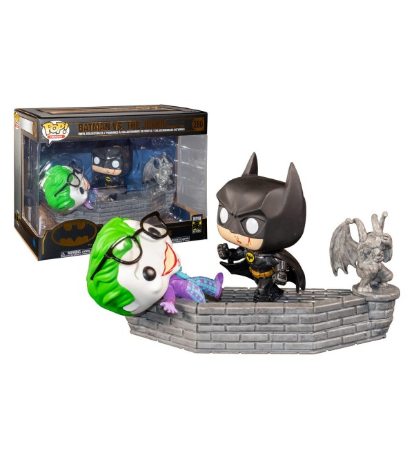 FUNKO POP MOVIE MOMENTS DC COMICS BATMAN & JOKER 1989