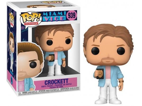 Funko Pop Movies Miami Vice - Crockett Figürü