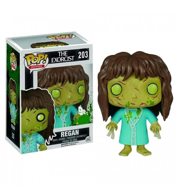 FUNKO POP MOVIES THE EXORCIST REGAN FIGURU