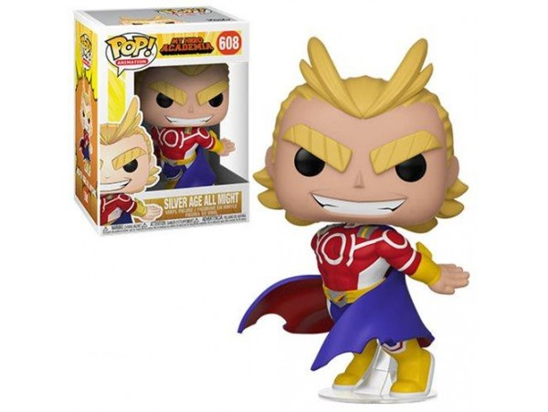 FUNKO POP MY HERO ACADEMIA SILVER AGE ALL MIGHT FIGURU