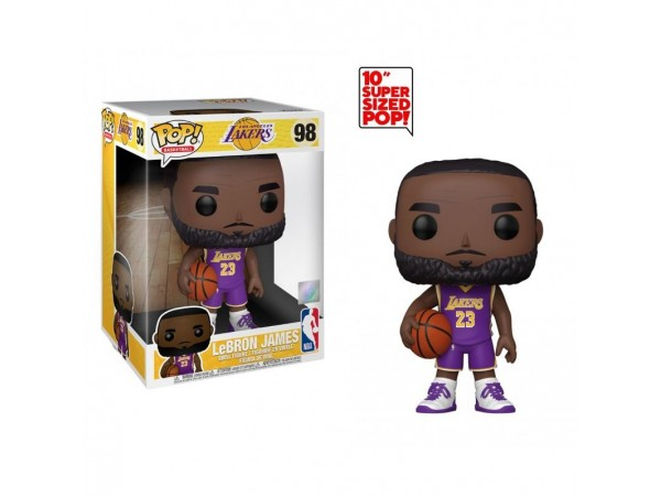 FUNKO POP NBA LAKERS LEBRON JAMES - 10 INC  BÜYÜK BOY 25 CM