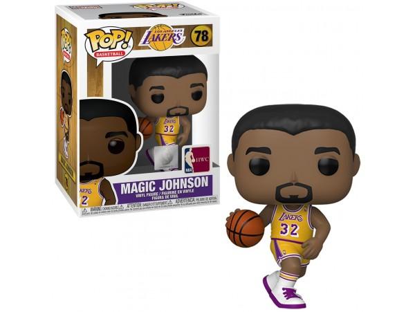 FUNKO POP NBA LEGENDS MAGIC JOHNSON FIGURU