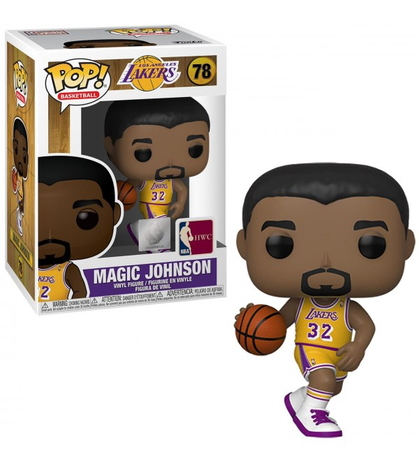 FUNKO POP NBA LEGENDS MAGIC JOHNSON FIGURU