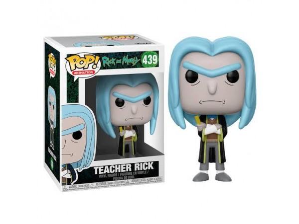 Funko Pop Rick And Morty Teacher Rick Figürü