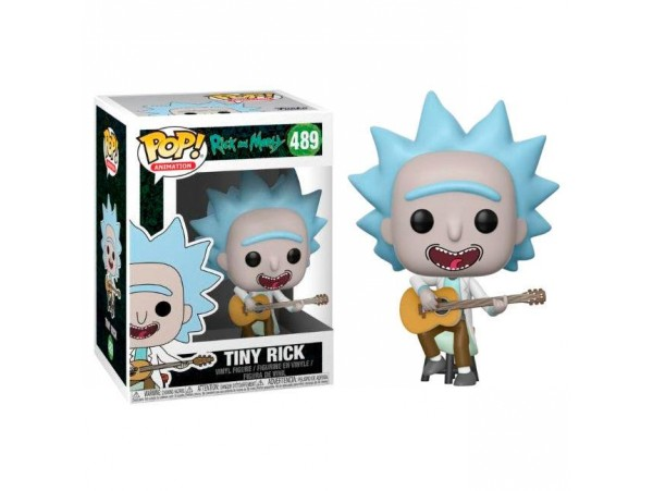 FUNKO POP RICK AND MORTY TINY RICK FIGURU