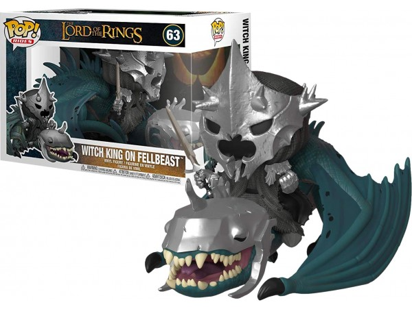 FUNKO POP RIDES LORD OF THE RINGS - WITCH KING ON FELLBEAST
