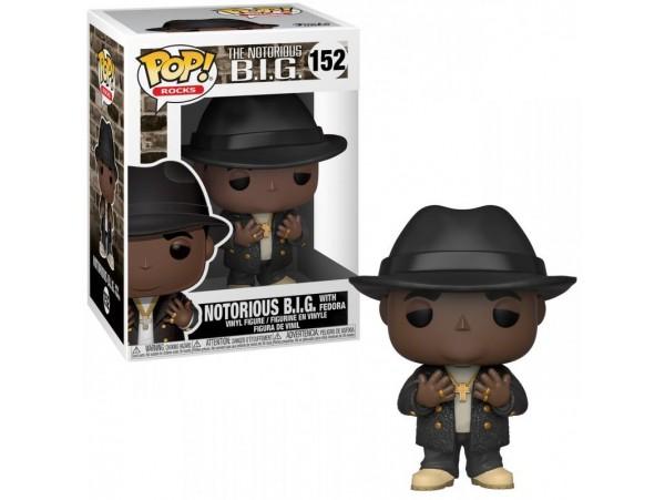 Funko Pop Rocks Biggie Notorious B.I.G Figürü