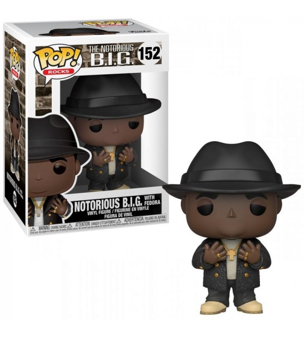 FUNKO POP ROCKS BIGGIE NOTORIOUS B.I.G FIGURU