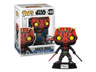 Funko Pop Star Wars Darth Maul With Dark Sabre Spacial Edition