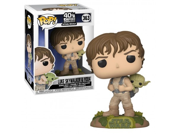 FUNKO POP STAR WARS LUKE SKYWALKER & YODA