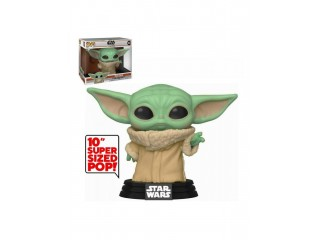 Funko Pop Star Wars Mandalorian - The Child Yoda - 10 Inc Büyük Boy 25 Cm