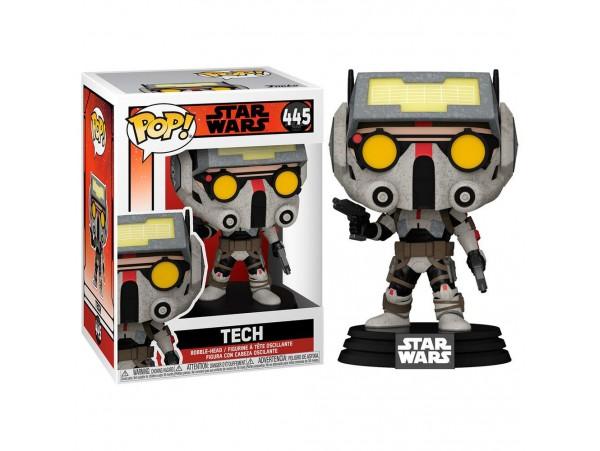 Funko Pop Star Wars: The Bad Batch - Tech Figürü