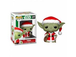 Funko Pop Star Wars Holiday Santa Yoda Figürü
