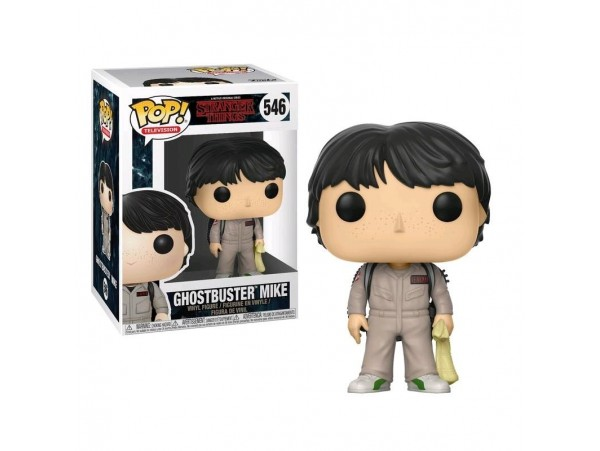 FUNKO POP STRANGER THINGS GHOSTBUSTER MIKE FIGURU