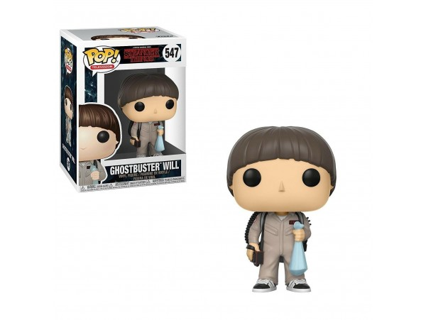 FUNKO POP STRANGER THINGS GHOSTBUSTER WILL FIGURU