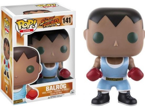 FUNKO POP STREET FIGHTER BALROG FIGURU