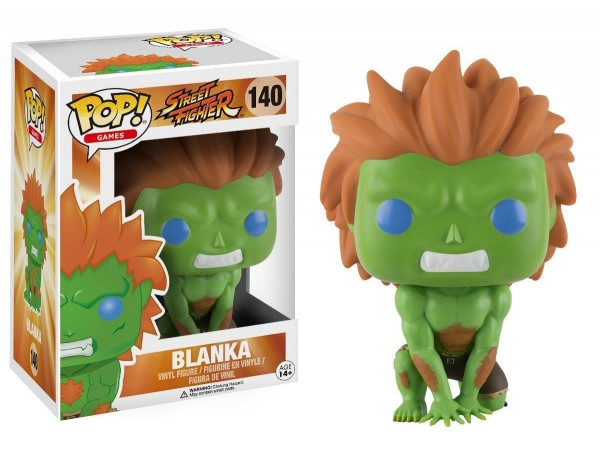 FUNKO POP STREET FIGHTER BLANKA FIGURU