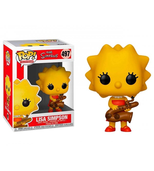 FUNKO POP THE SIMPSONS - LISA SIMPSON SAXOPHONE FIGURU