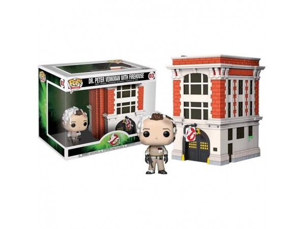 FUNKO POP TOWN GHOSTBUSTERS - PETER W HOUSE