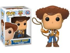 FUNKO POP TOY STORY 4 SHERIFF WOODY FIGURU