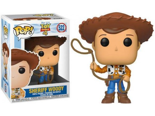 FUNKO POP TOY STORY 4 SHERIFF WOODY FIGURU