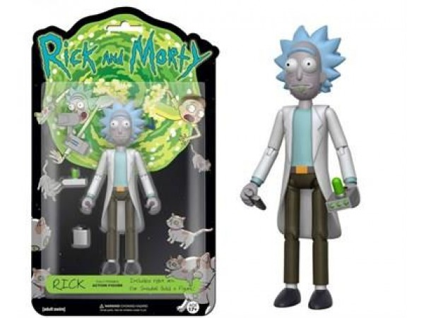 FUNKO RICK AND MORTY - RICK FIGURU