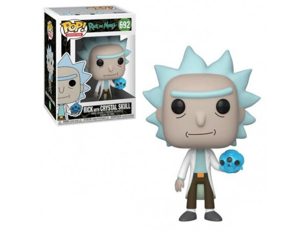 Funko Rick And Morty - Rick With Crystal Skull Figürü