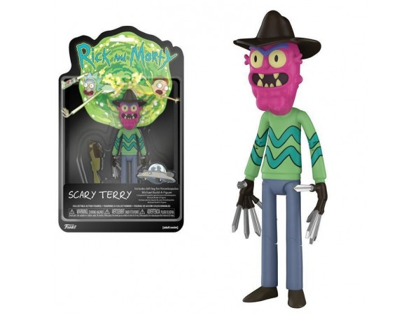 FUNKO RICK AND MORTY - SCARY TERRY FIGURU 13CM