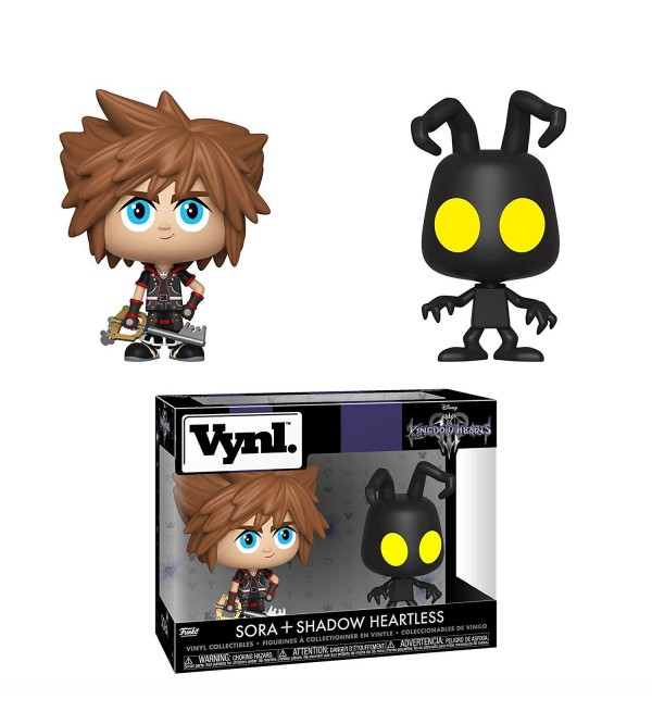 FUNKO VYNL DISNEY KINGDOM HEARTS III SORA & HEARTLESS