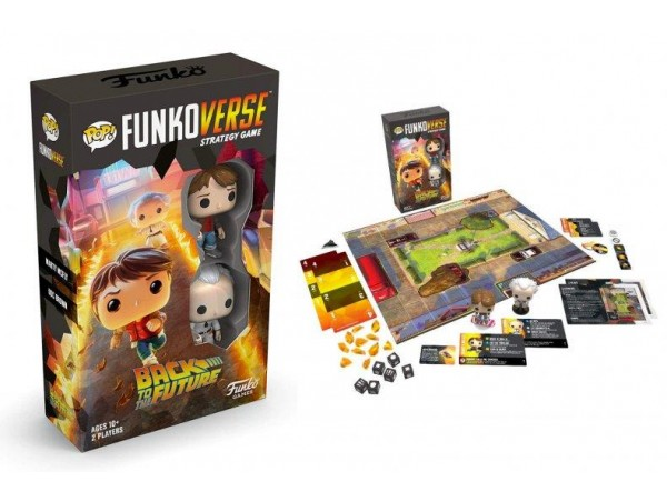 Funkoverse Back To The Future Strategy Game (4 Pack)