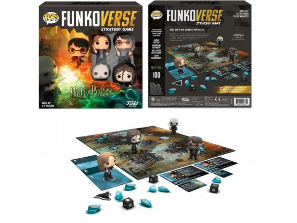 FUNKOVERSE HARRY POTTER 100 STRATEGY GAME (4 PACK)
