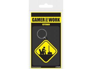 Gamer At Work - Lisansli Anahtarlık