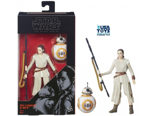 HASBRO STAR WARS THE BLACK SERIES REY FIGURU