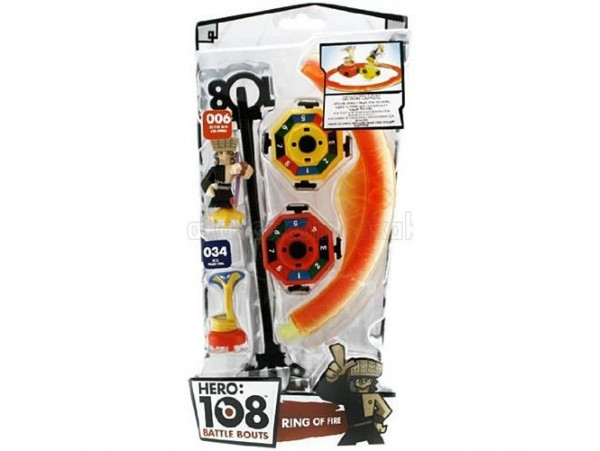 HERO 108 BATTLE BOUTS RING OF FIRE SET