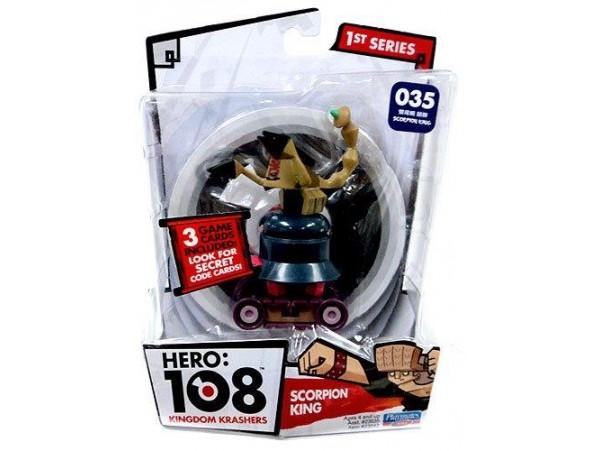 Hero 108 Kingdom Krashers Akrep Kral Figürü
