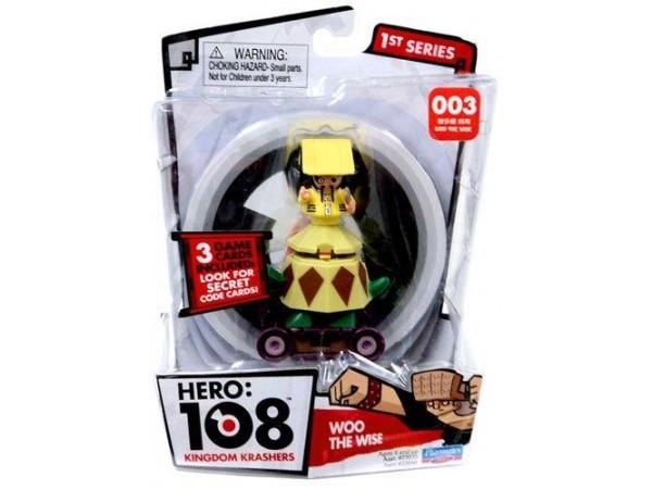 HERO 108 KINGDOM KRASHERS ERMIS WOO FIGURU
