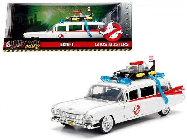 JADA TOYS 1:24 GHOSTBUSTERS ECTO-1