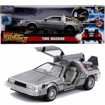 JADA TOYS HOLLYWOOD RIDES 1:24 SCALE BACK TO THE FUTURE - TIME MACHINE