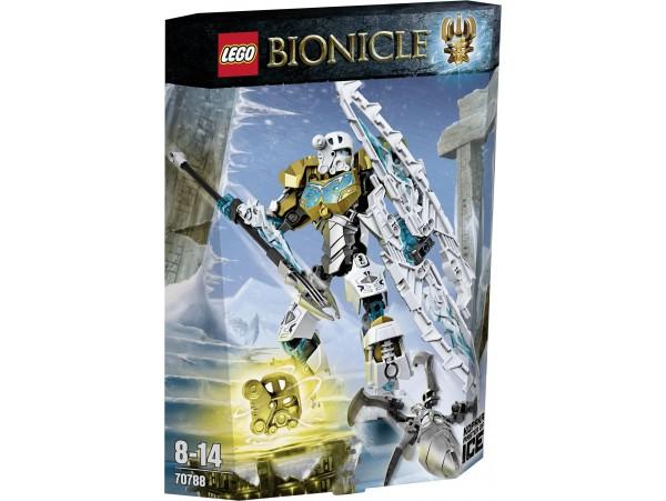 LEGO BIONICLE KOPAKA - MASTER OF ICE -70788 NOT!!! SIFIR URUN KUTUDA DEFORME MEVCUTTUR