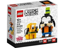 LEGO BRICKHEADZ DISNEY PLUTO + GOOFY FIGURU
