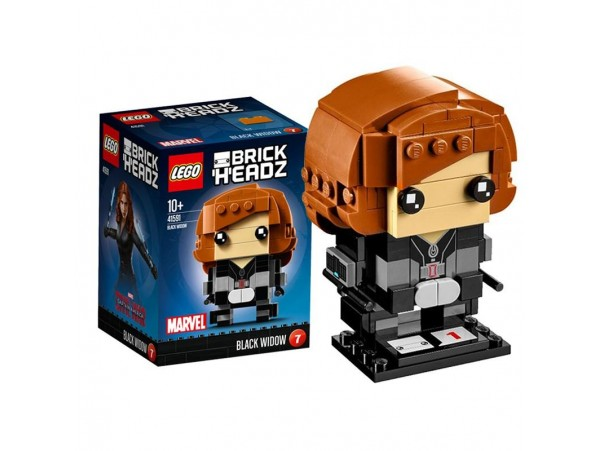 LEGO BRICKHEADZ MARVEL BLACK WIDOW FIGURU