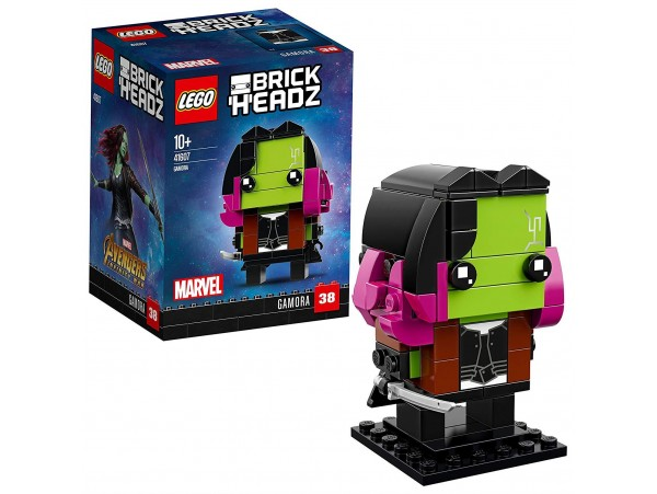 LEGO BRICKHEADZ MARVEL GAMORA FIGURU