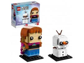 LEGO BRICKHEADZ OLAF & ANNA FIGURU