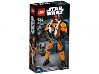 LEGO BUILDABLE STAR WARS POE DAMERON FIGURU