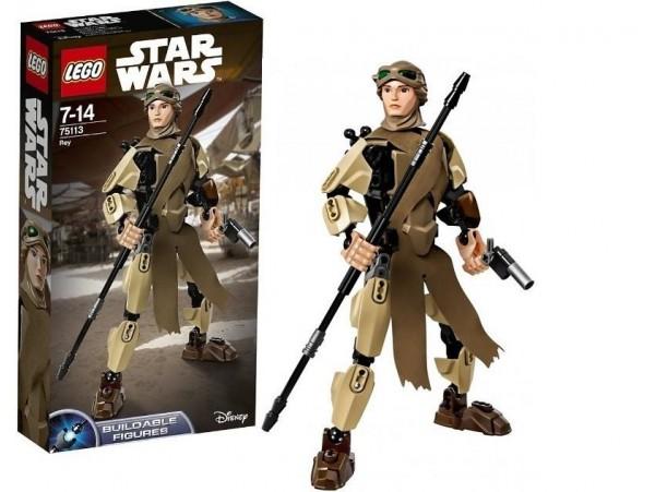 LEGO BUILDABLE STAR WARS REY FIGURU