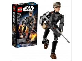 LEGO BUILDABLE STAR WARS SERGEANT JYN ERSO FIGURU