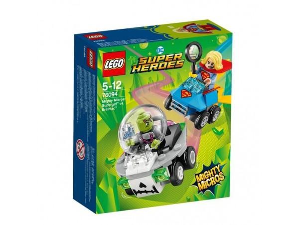 LEGO DC SUPER HEROES MIGHTY MICROS SUPERGIRL BRAINIACA KARŞI 76094
