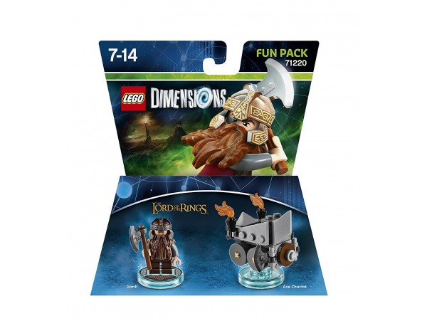 LEGO DIMENSIONS LORD OF THE RINGS GIMLI AXE CHARIOT