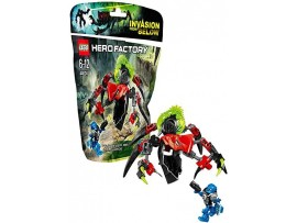 LEGO HERO FACTORY TUNNELER BEAST VS SURGE 44024