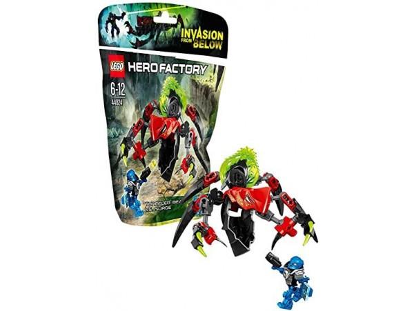 LEGO HERO FACTORY TUNNELER BEAST VS SURGE 44024